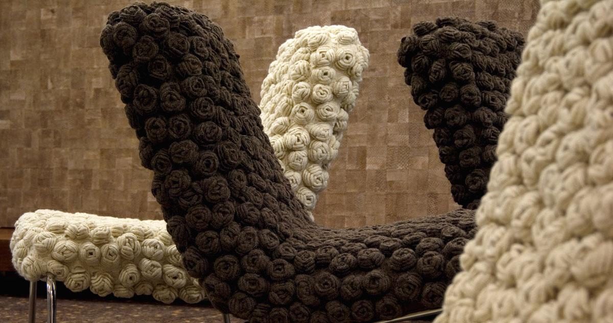 Coleção 2008 In-Fluências - Poltrona Flor