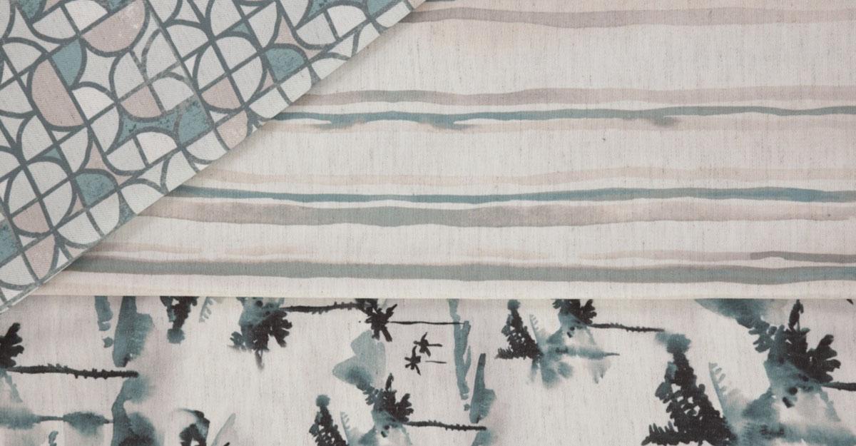 Tecidos e papeis de parede Rio por studio Velotrol