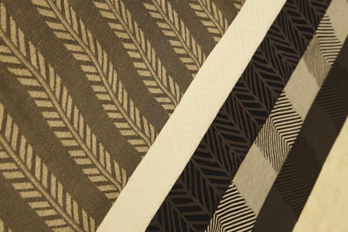 Coleção 2010 - Tecido jacquard Akuã, Flecha e Franja