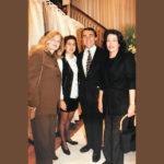 Julinha Serrado, Tininha Tostes, Zeco Beraldin e Ana Maria Índio da Costa