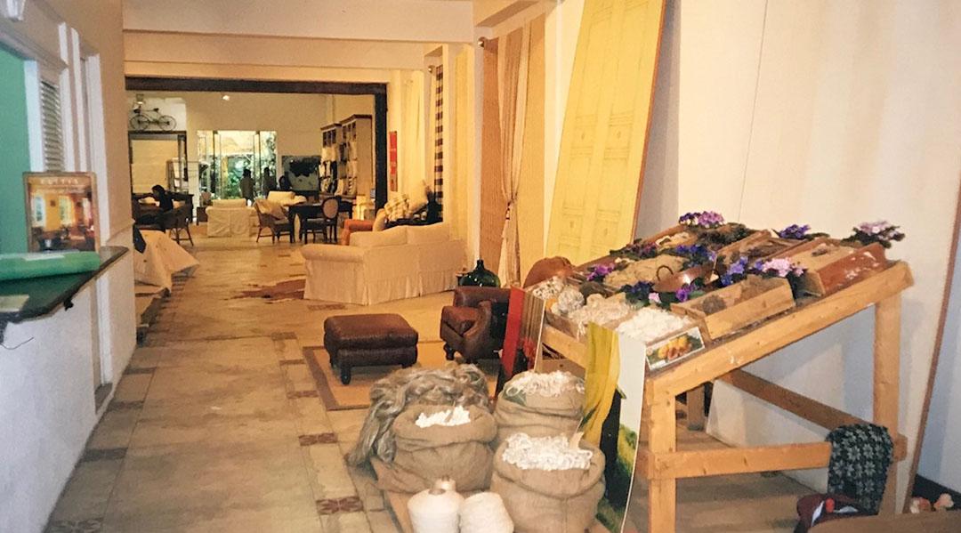 Entrada da loja na abertura em 29/05/1995