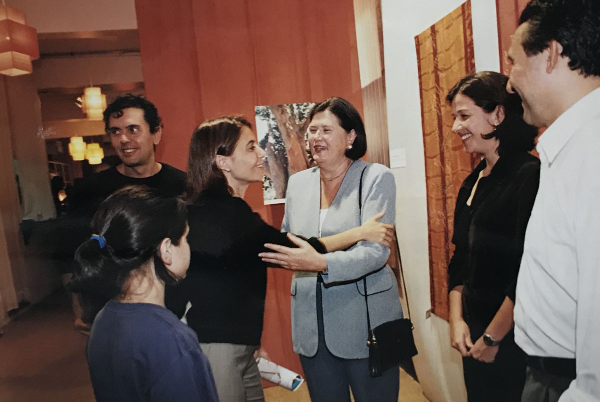 Cris e João Armentano e Carolina Szabó