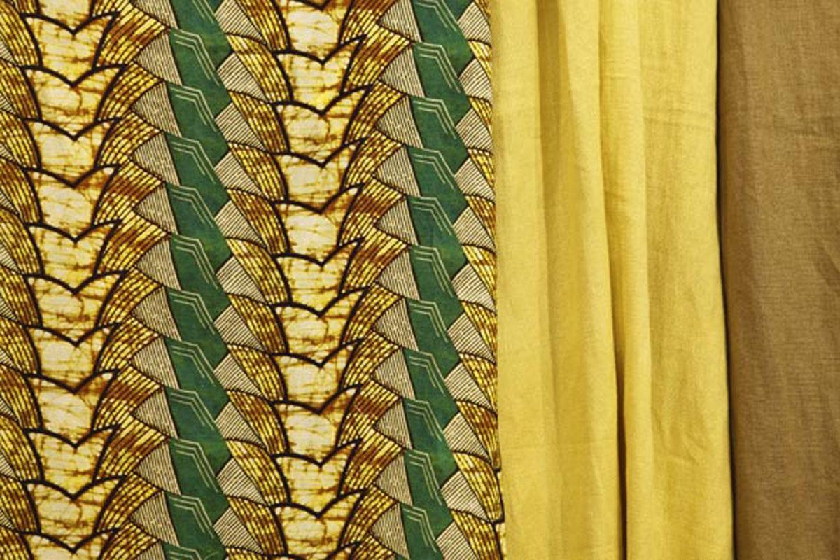 Coleção 2010 - Tecidos de linho Liso e Carnaúba verde