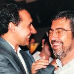 Prefeito Antonio Imbassay e Zeco Beraldin